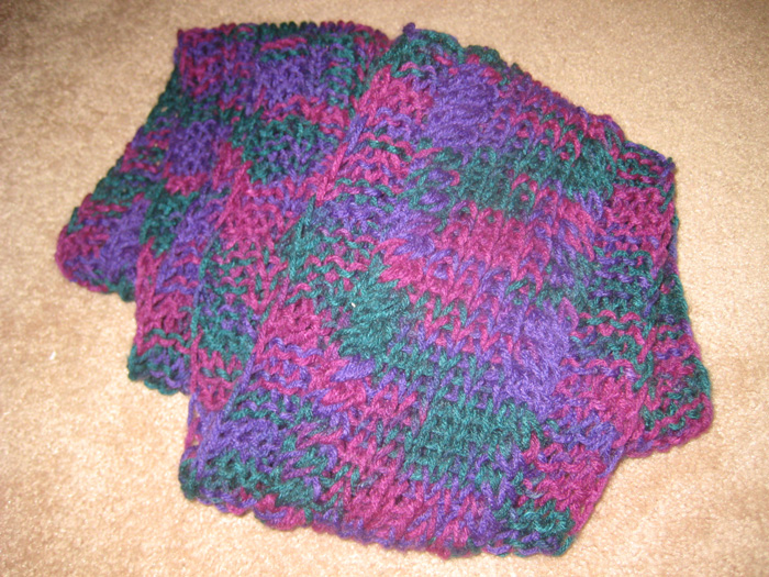 Slip Stitch Knitting End Of Row : Blue Tulip Web